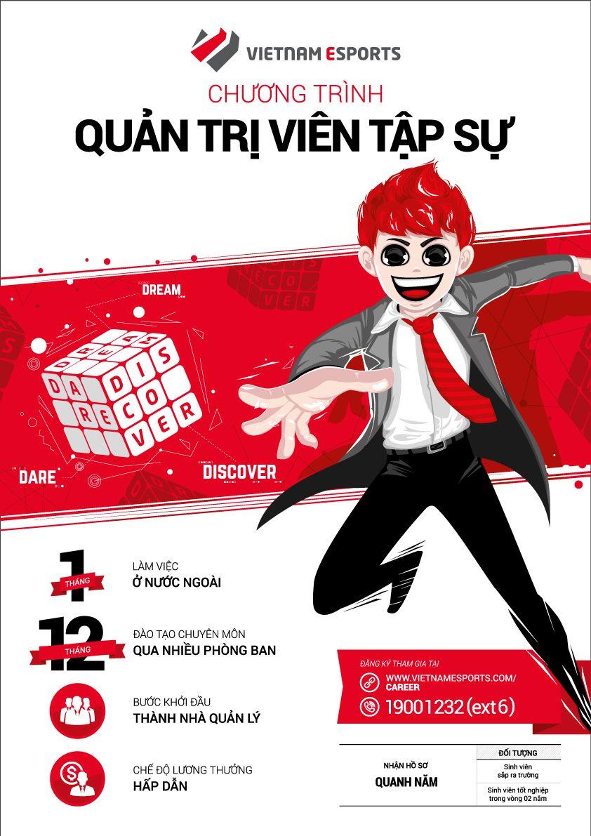 Thiết kế mẫu poster tuyển dụng uy tín nhất tại Hà Nội3