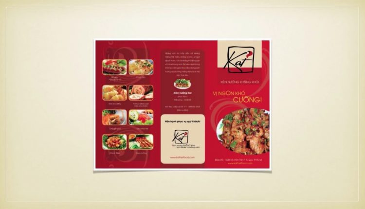 Top mẫu thiết kế brochure khách sạn nhà hàng chuyên nghiệp